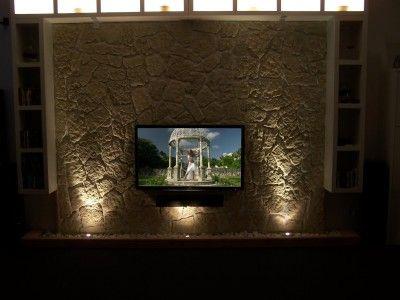 Tv wand naturstein  Wände Im Naturstein-Look | Zuhause Wohnen – ragopige.info